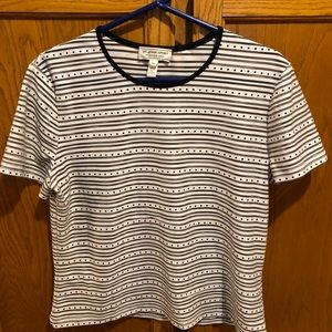 St John short sleeve top